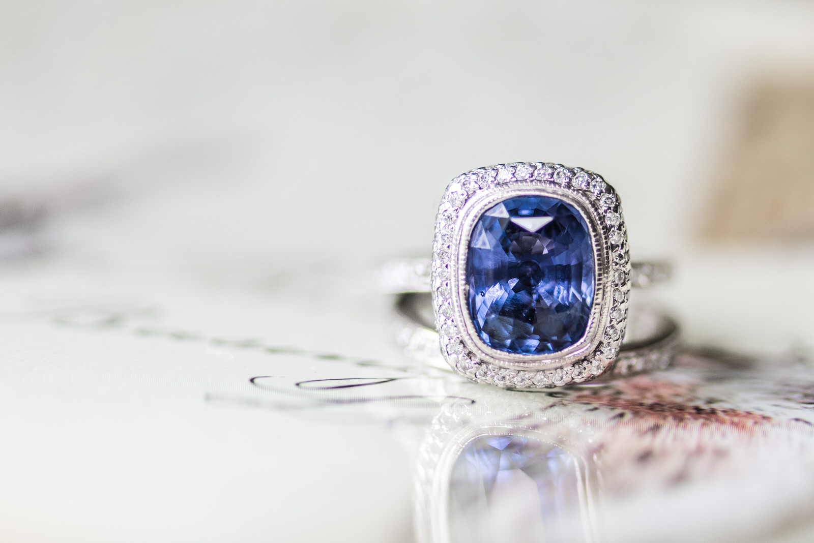 Sapphire Diamond Ring The Knot Rings Pave Engagment Seattle.jpg