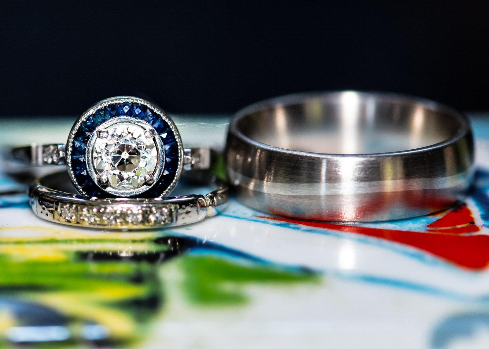 Alexandria Rossoff Seattle Custom Wedding Rings Sapphire Diamond Engagement Ring Wedding.jpg