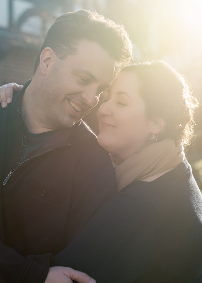 Engagement Photos Bainbridge Island Casual Winter City-16.jpg