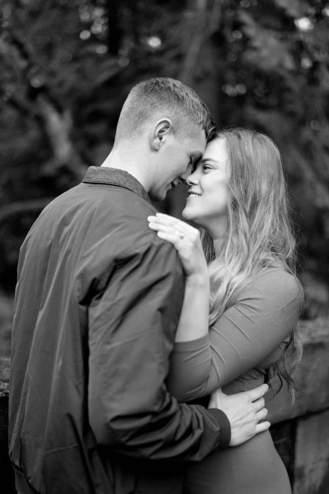 Seattle Engagement C Servin Photographs UW Arboretum Botanic Garden Bridge Portrait-20.jpg