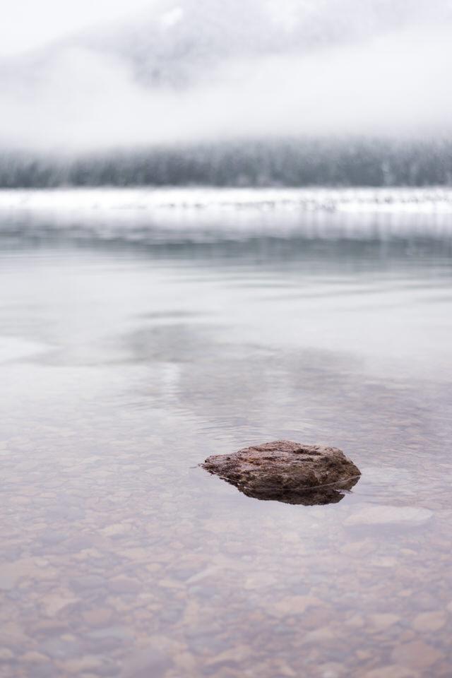 Snoqualmie Falls Scenic Lake Snow and Fog-6.jpg