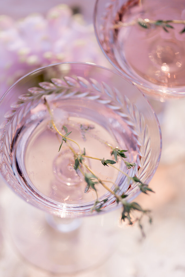 Weddings in Woodinville Columbia Winery champagne coupe Laurent Perrier.jpg