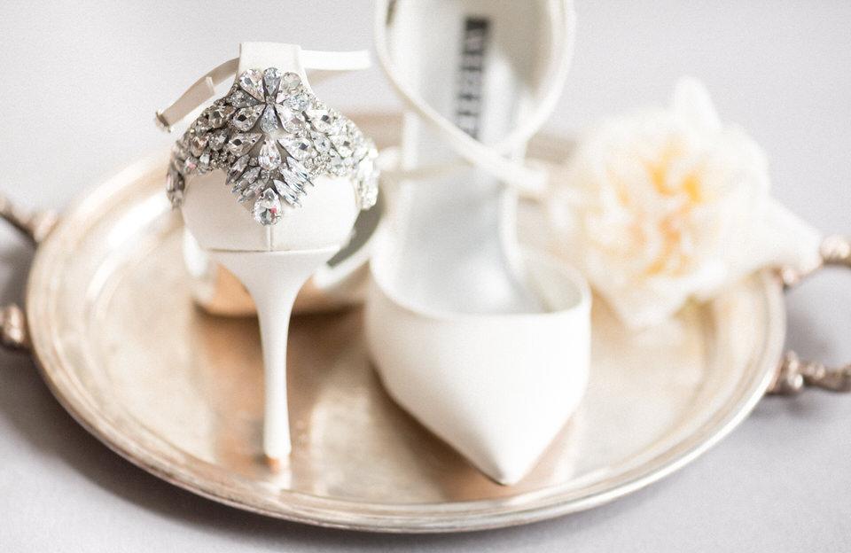 Seattle fine art film photography winter wedding high heel rhinestone embellishment white silk-1.jpg