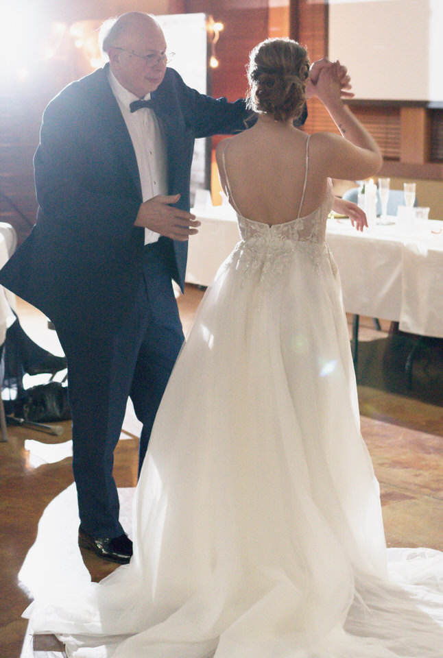Bride dancing with grandfather tulle backless gown classic.jpg