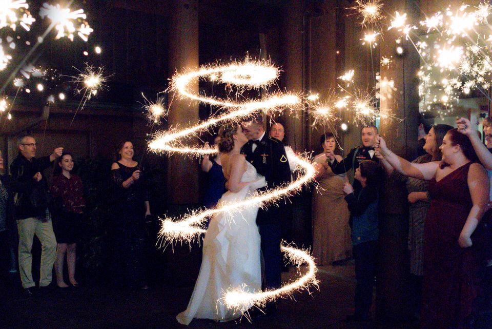 Sparkler Exit Writing and Art Seattle Wedding Photographer Christina Servin Photographs-5.jpg