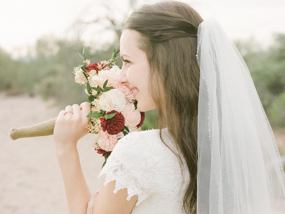 Arizona Desert Winter Wedding Portraits Gown and Dark Suit Christina Servin Photographs-4.jpg