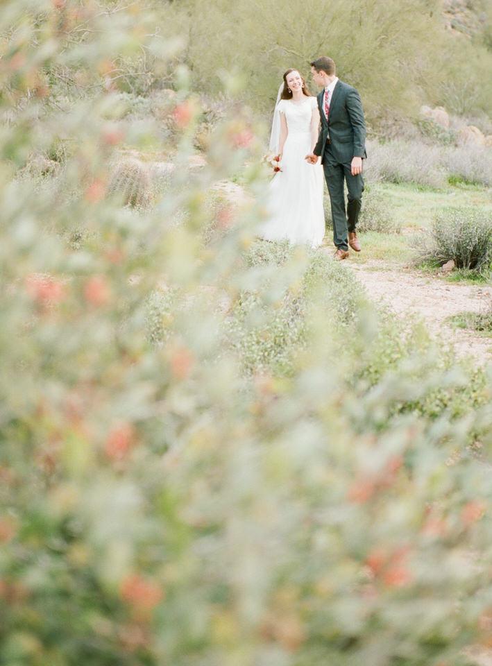 Arizona Desert Winter Wedding Portraits Gown and Dark Suit Christina Servin Photographs-7.jpg