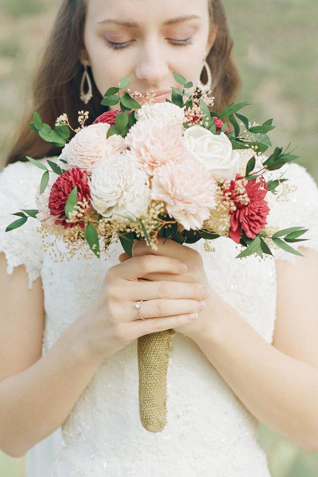 Usery Pass Bridal Portraits Arizona Desert Winter Tulle Gown Veil Christina Servin Photographs-10.jpg