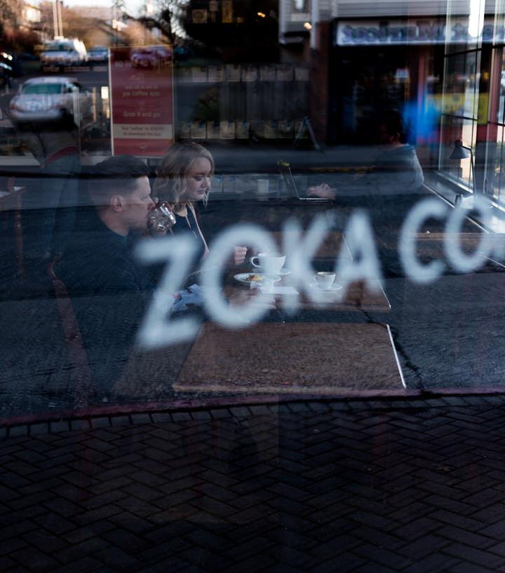 Zoka Coffee Shop Seattle Cafe Engagement Session Indoor CServinPhotographs-3.jpg