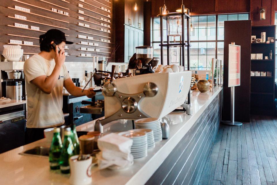 Zoka Coffee Shop Seattle Cafe Engagement Session Indoor CServinPhotographs-7.jpg