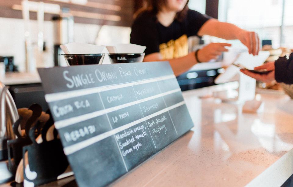 Zoka Coffee Shop Seattle Cafe Engagement Session Indoor CServinPhotographs-15.jpg
