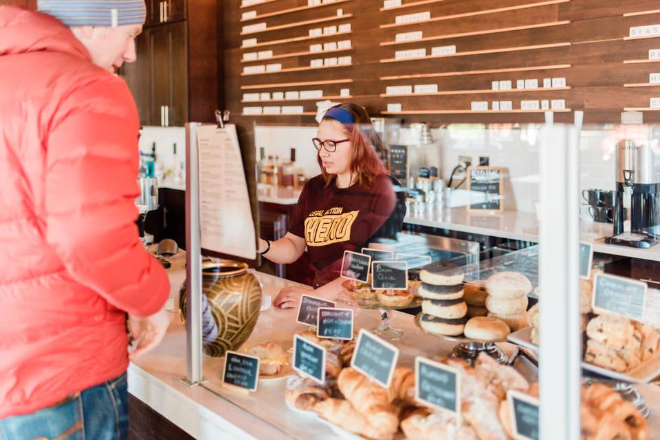Zoka Coffee Shop Seattle Cafe Engagement Session Indoor CServinPhotographs-16.jpg