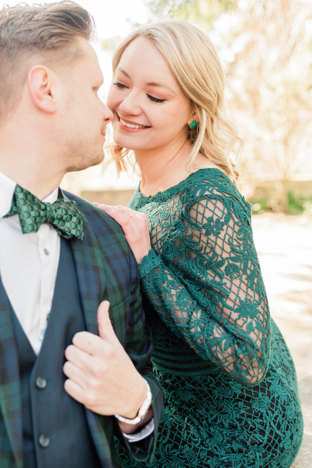 Seattle Park Engagement Session Lace Gown Suit and Tie Formal CServinPhotographs Winter-16.jpg