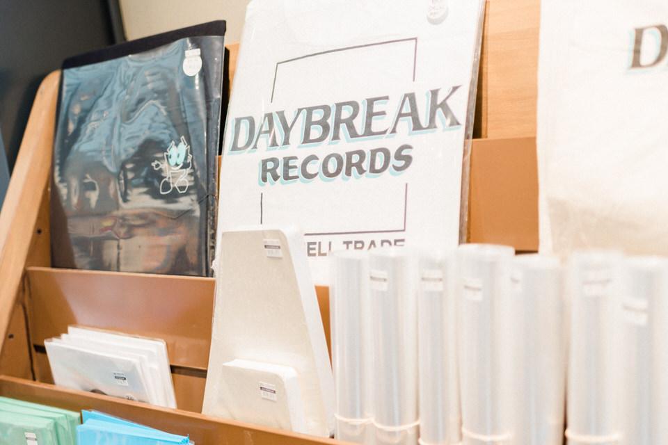 Seattle Fremont Engagement Session CServinPhotographs Film Daybreak Records Vintage Old School Record Shop Session-19.jpg