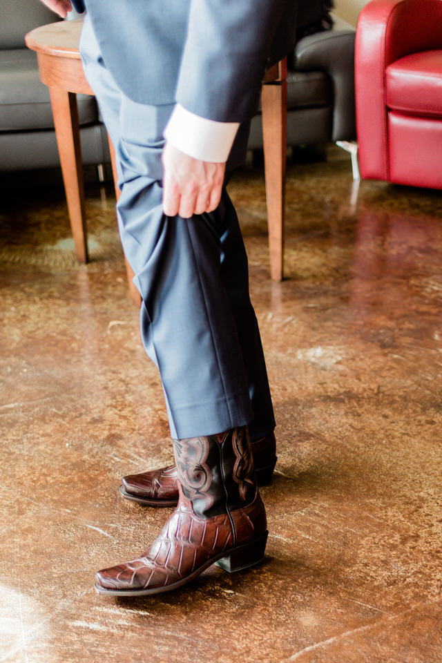 Groom Getting Ready Cowboy Boots and Navy Suit Seattle Christina Servin Photographs-2.jpg
