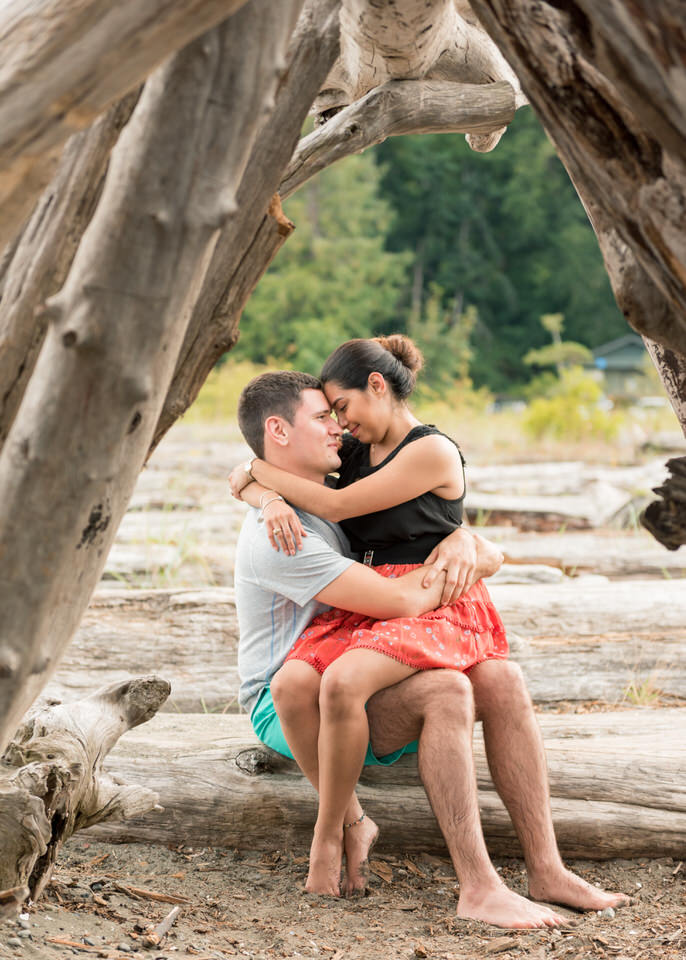 Fay Bainbridge Bainbridge Island Engagement Portraits Christina Servin Photographs Beach-10.jpg