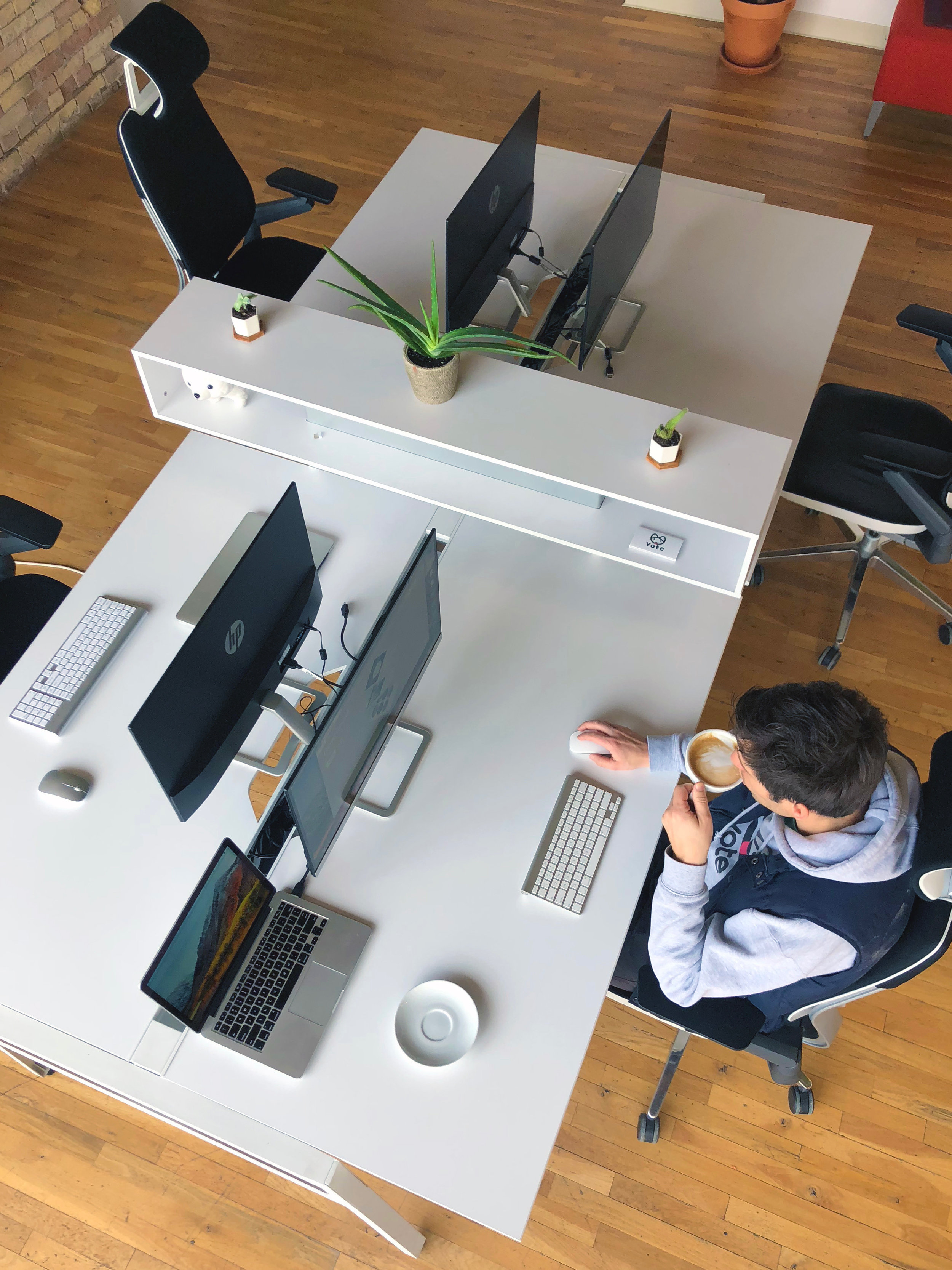 Steelcase Gesture chairs and BIVI workstation