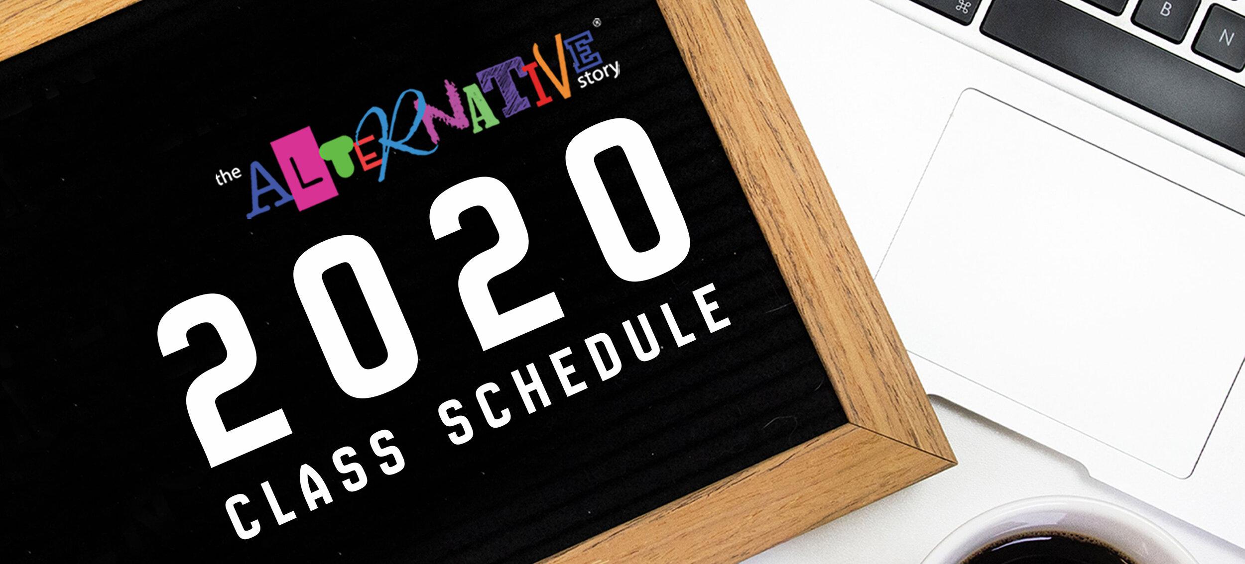 2020 Class Schedule Release