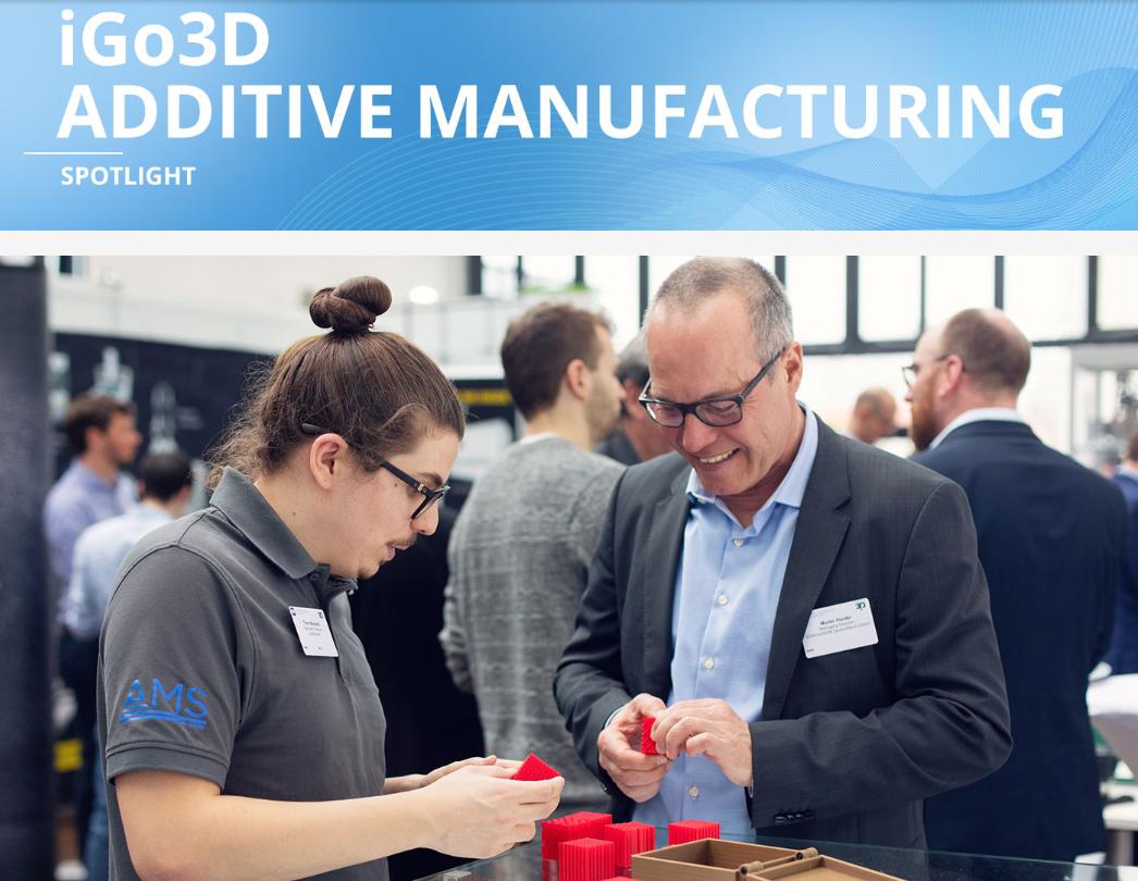 Recap: AMS auf dem 3. Additive Manufacturing Forum Berlin 2019 - In diesem Jahr präsentierte sich die Erfolgskonferenz, das Additive Manufacturing Forum Berlin, zum dritten Mal mit einem branchenübergreifenden Programm in puncto 3D-Druck in professionellen Anwendungsbereichen. Unsere Business Unit AMS…