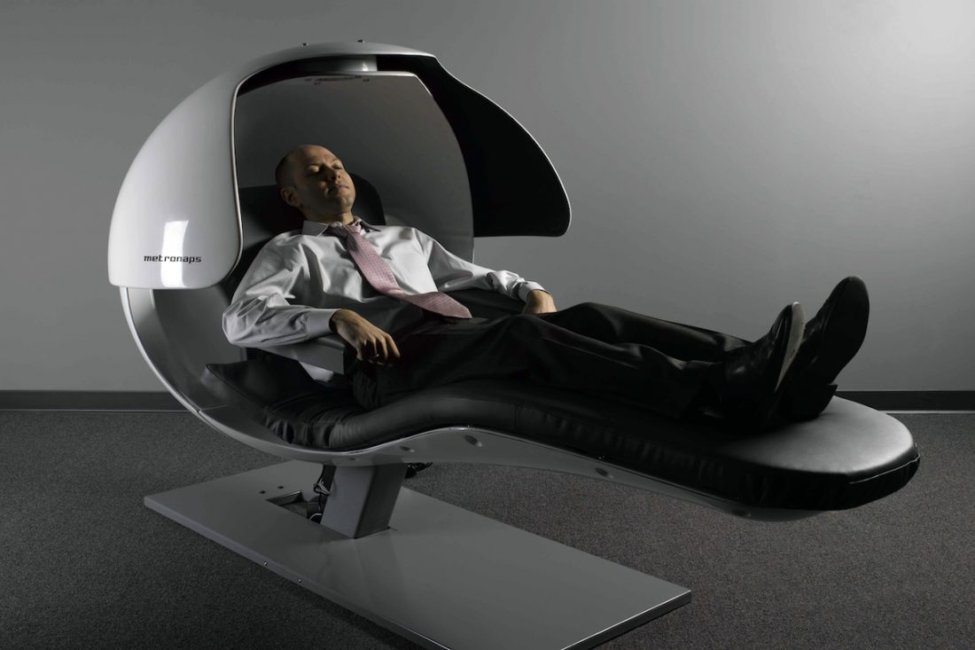A growing number of businesses are starting to recognise what sleep researchers have long proclaimed: power naps can significantly improve alertness and brain function, and increase productivity. Read more  here .