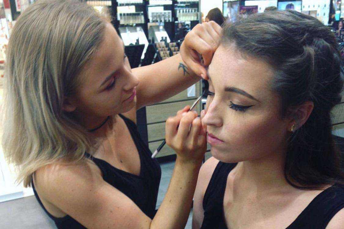 Hannah Kemp makeup artist @ MAC cosmetics, Debenhams Cardiff