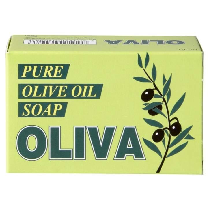 Oliva olive oil soap from  Holland & Barrett