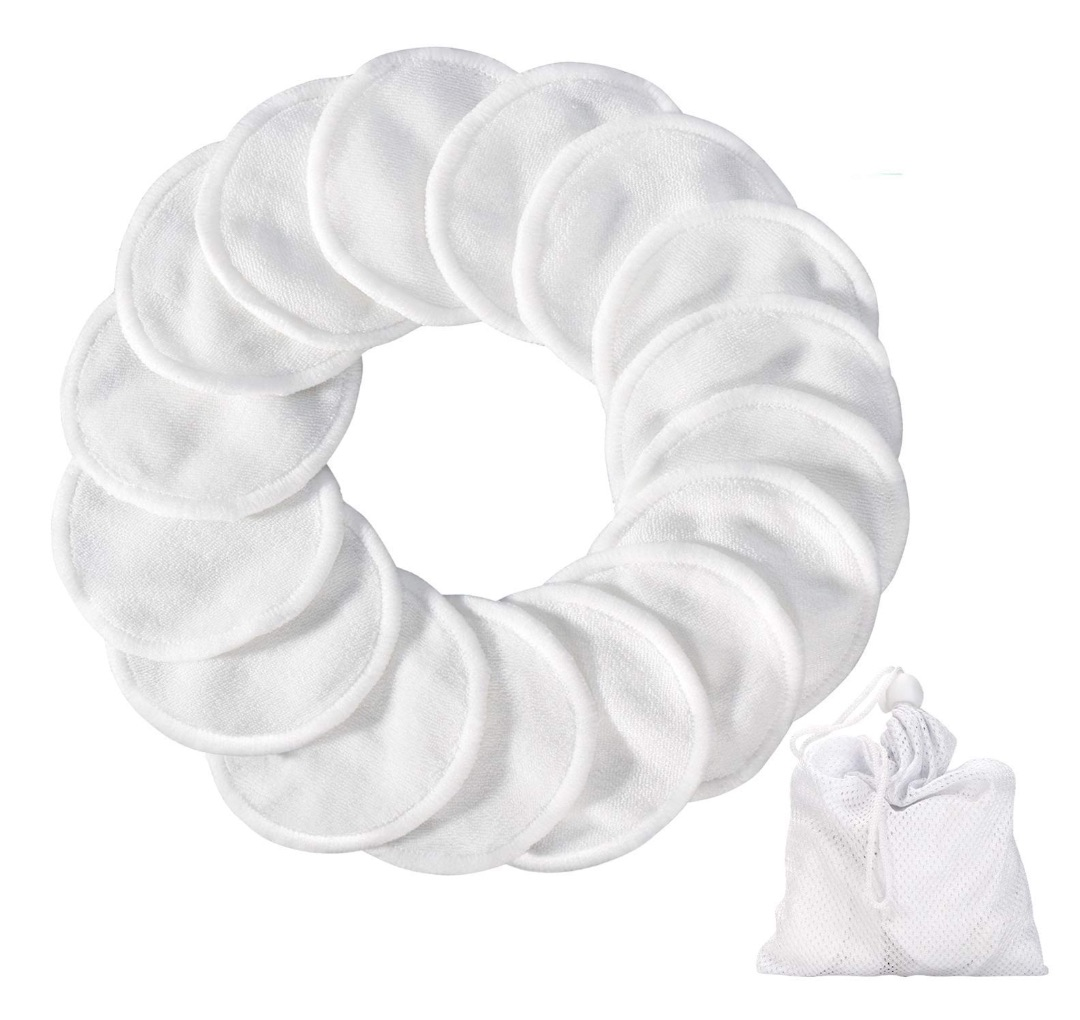Washable Bamboo Cotton Pad from  Amazon