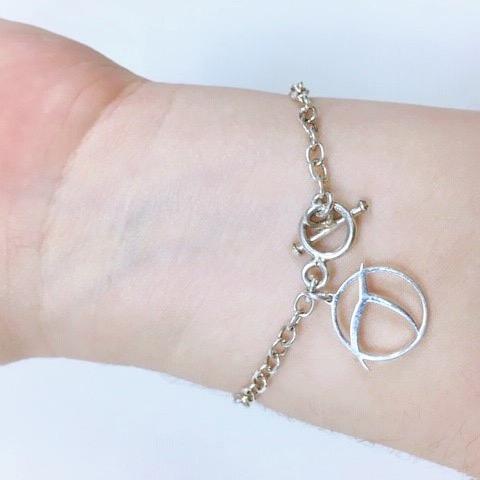 Invisible Pink Unicorn pendant atheist jewelry