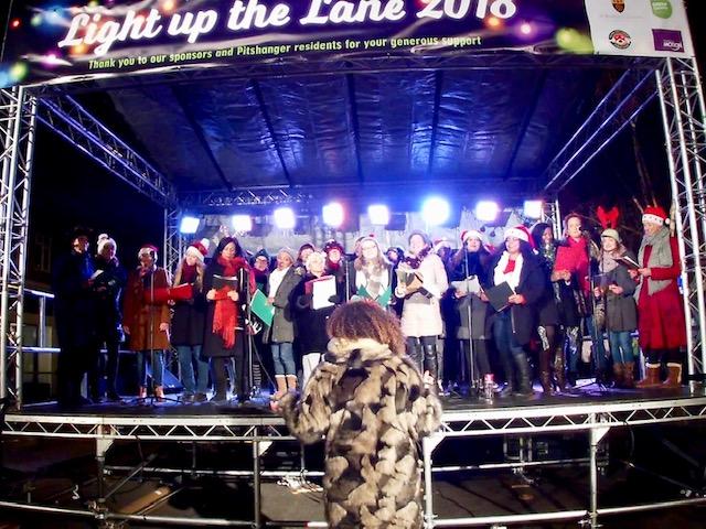 Light up the Lane - Pitshanger Lane, Ealing.