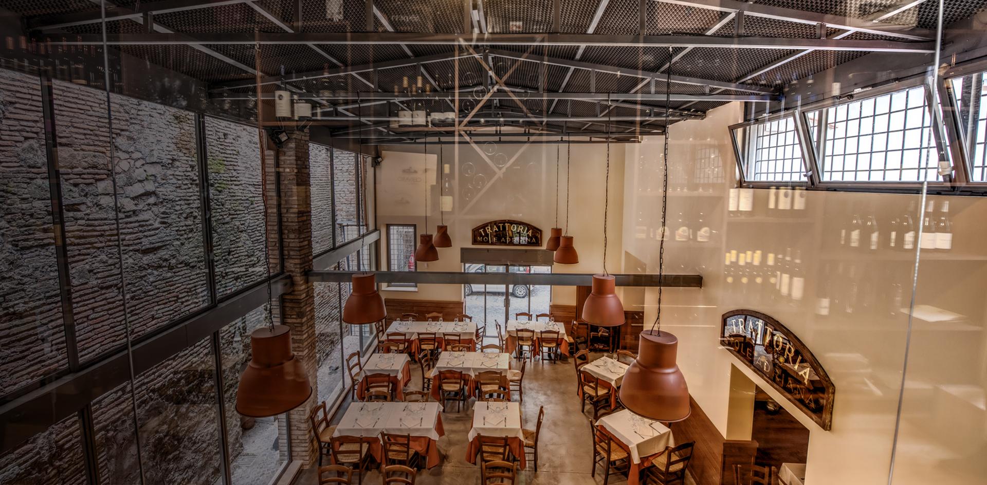 da Romolo restaurant - main dining area