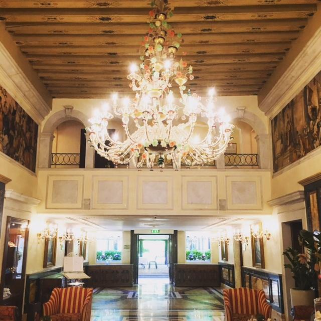 Reception - Grand Hotel Dei Dogi -Boscolo Venezia - Venice.JPG