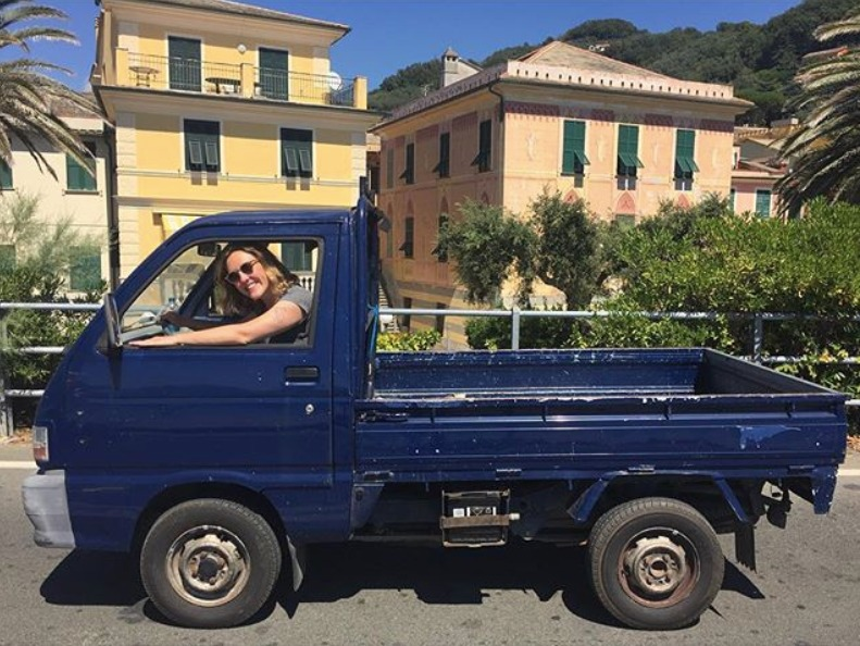 Elizabeth Jones - Risotto and Steel - Truck in Liguria.JPG