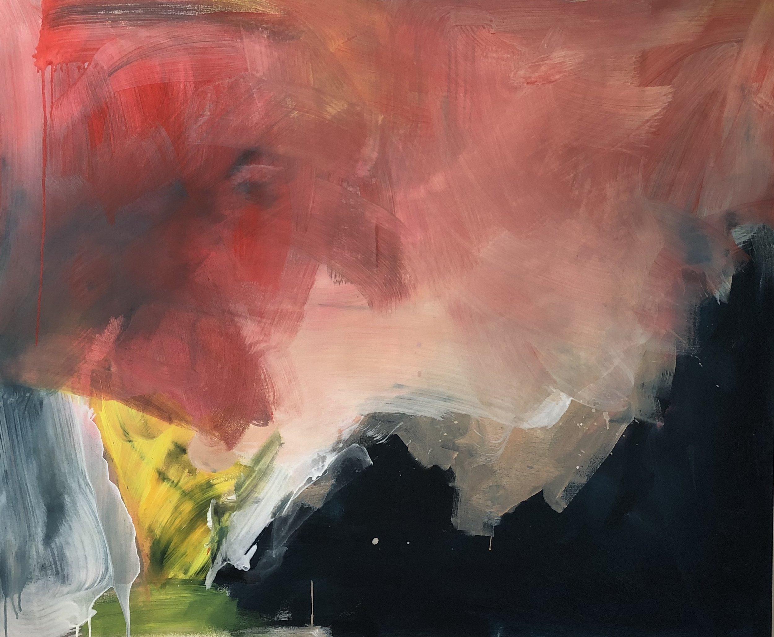Untitled, 120cm x 80cm, Acrylic on canvas