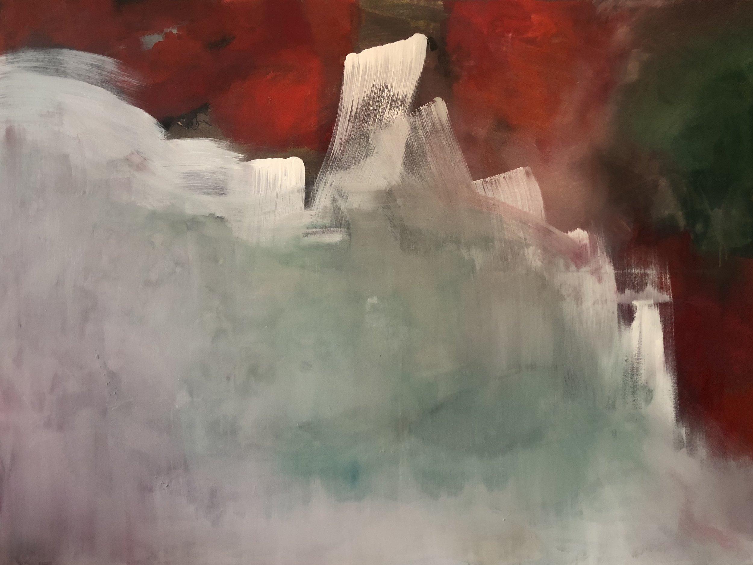 Untitled, 145 cm x 100 cm, Acrylic on canvas