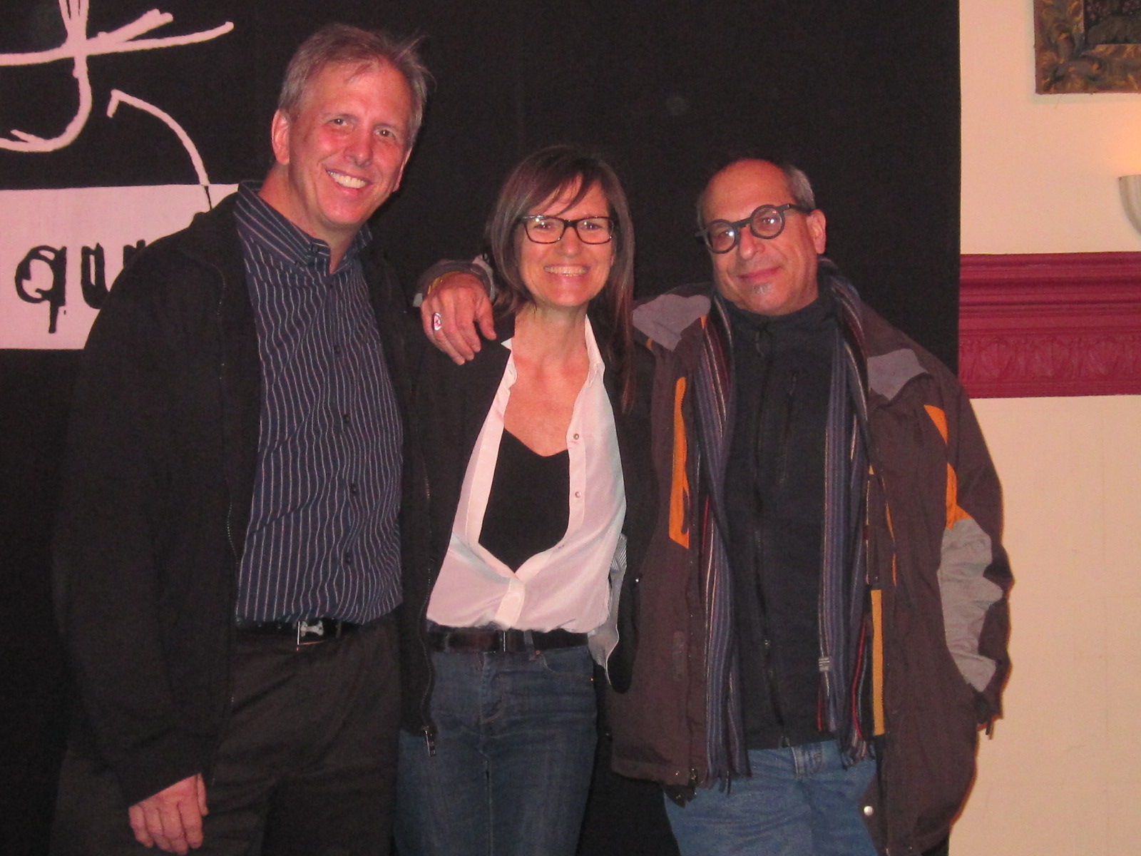 Dick Oatts, Marie-Claire and Gary Smulyan