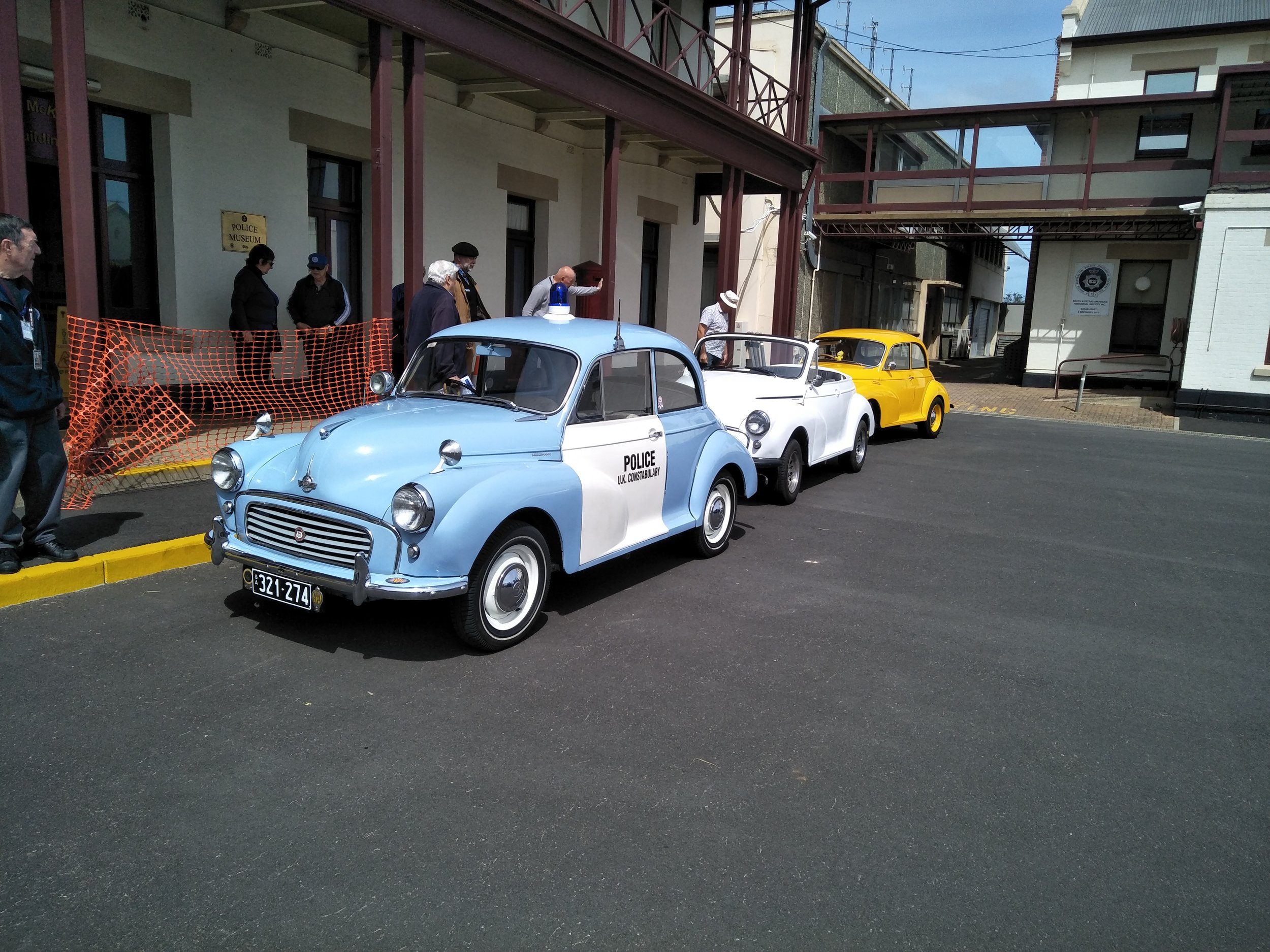 MORRIS minors at the Police Museum Thebarton