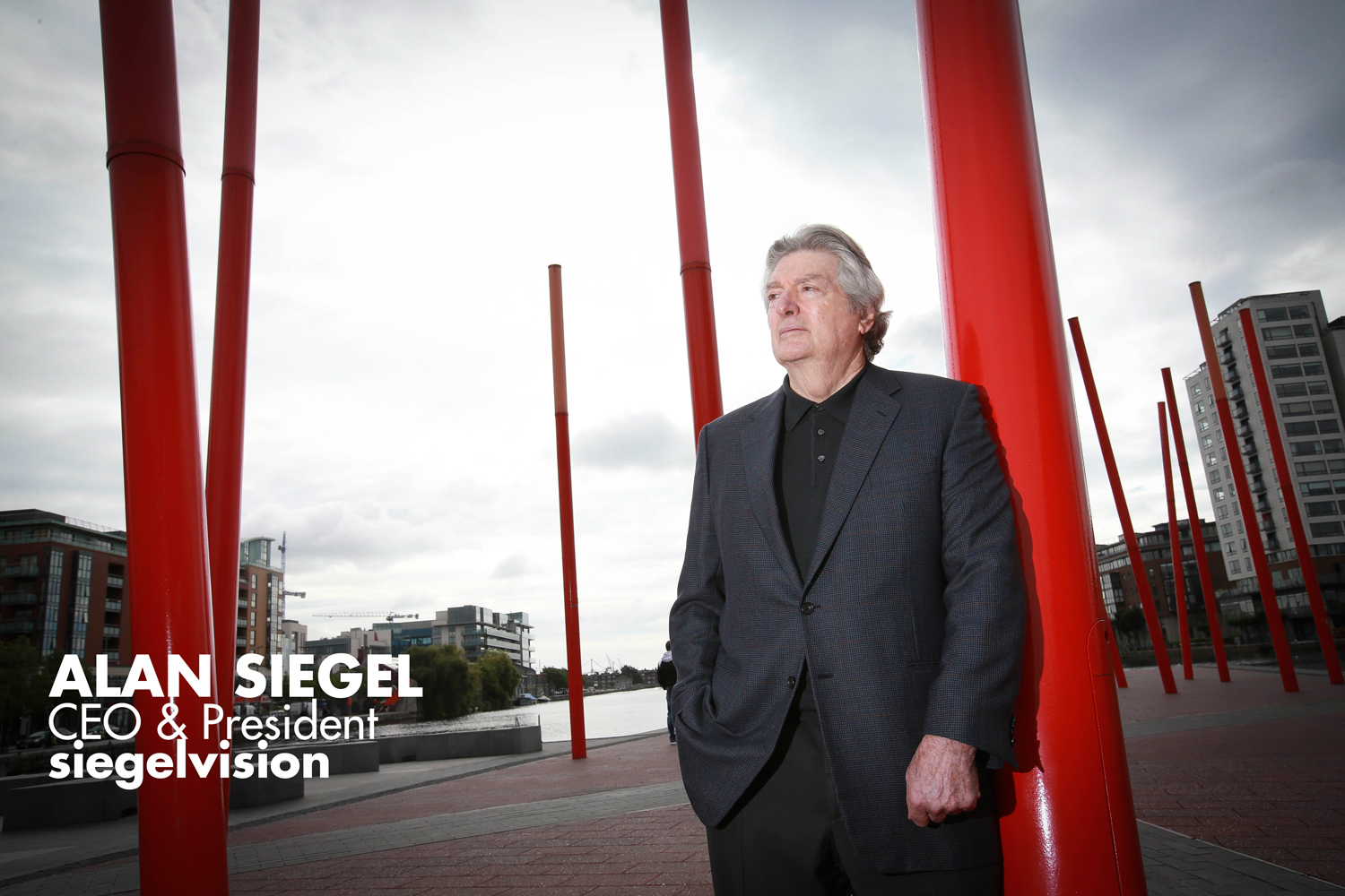 Alan Siegel , chief executive of Siegelvision Picture: Conor McCabe
