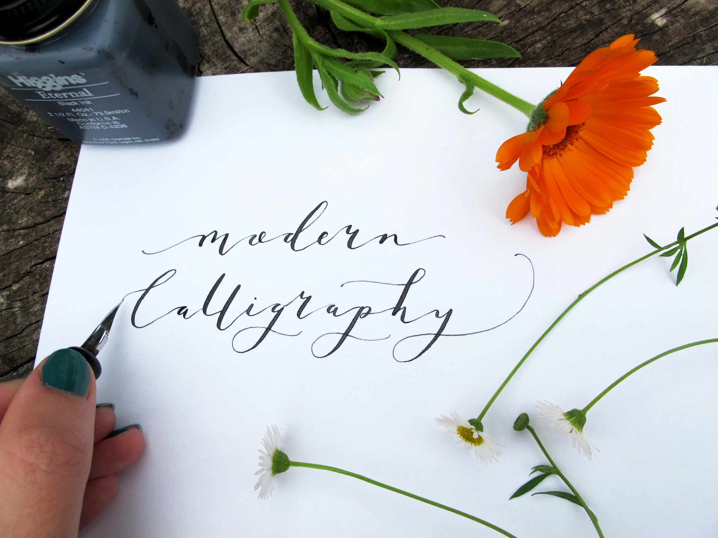 I'm happy to announce dates for Modern Calligraphy workshops taking place at Fisherton Mill Gallery in Salisbury. Do you fancy learning this beautiful art form based on traditional calligraphy? If so do get in touch! Dates are as follows:  Tuesday 17th October -  Introduction to Modern Calligraphy  6 - 8.30PM £35 (includes starter kit)  Wednesday 25th October -  Introduction to Modern Calligraphy  6 - 8.30PM £35 (includes starter kit)  Tuesday 14th November -  Modern Calligraphy for Improvers  6-8.30PM £35 (kit included)  Saturday 18th November -  Christmas themed Modern Calligraphy workshop  2-4.30pm £35 (kit included)  I hope to see some of you there! if you are interested or would like to book a place please email me: mclean.francesca@gmail.com