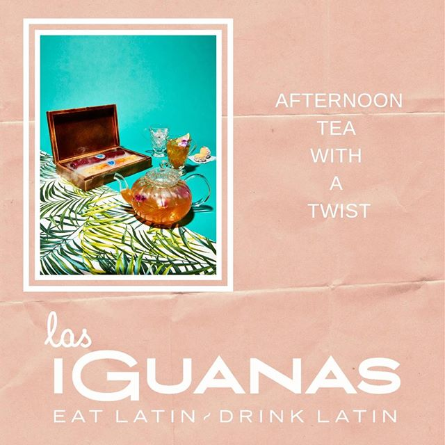 Bored of your usual afternoon tea? Go and experience Las Iguanas brand NEW Afternoon Tea with our delicious Havana Club Rum tea! Available between 2pm - 5pm, Sunday to Friday!!