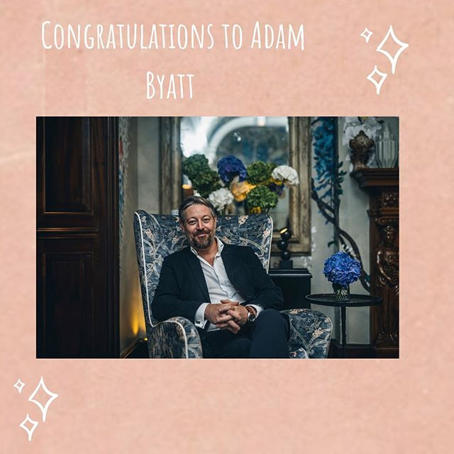 We are delighted to announce that @adambyatt and @browns_hotel will be working together from September 2019!!!