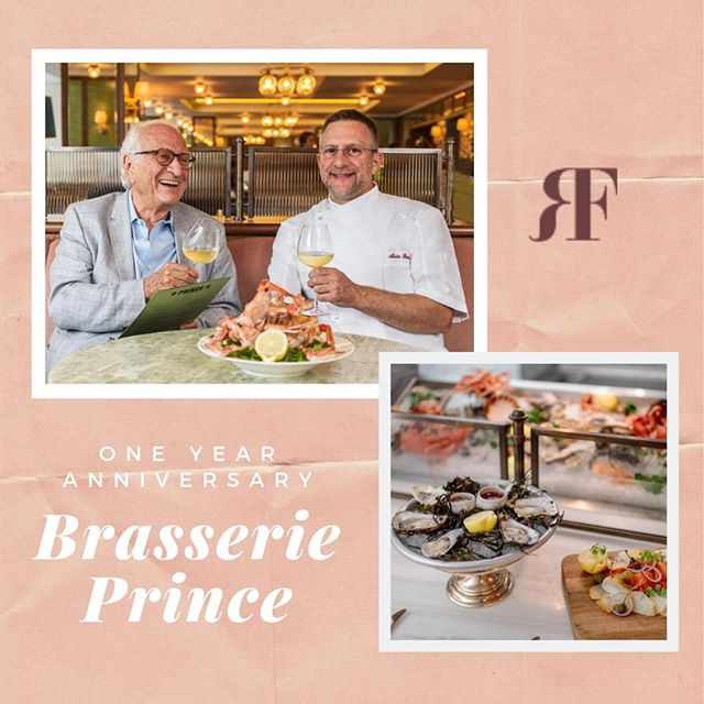 To celebrate its first birthday,  The Balmoral's restaurant, Brasserie Prince, is offering a special Seafood Celebration Menu. The new menu features four courses of delicious seafood for lunch and dinner. This special is a limited time offer and will end on August 9th. Don't miss out! Browse the menu here: https://bit.ly/2QuBgOu