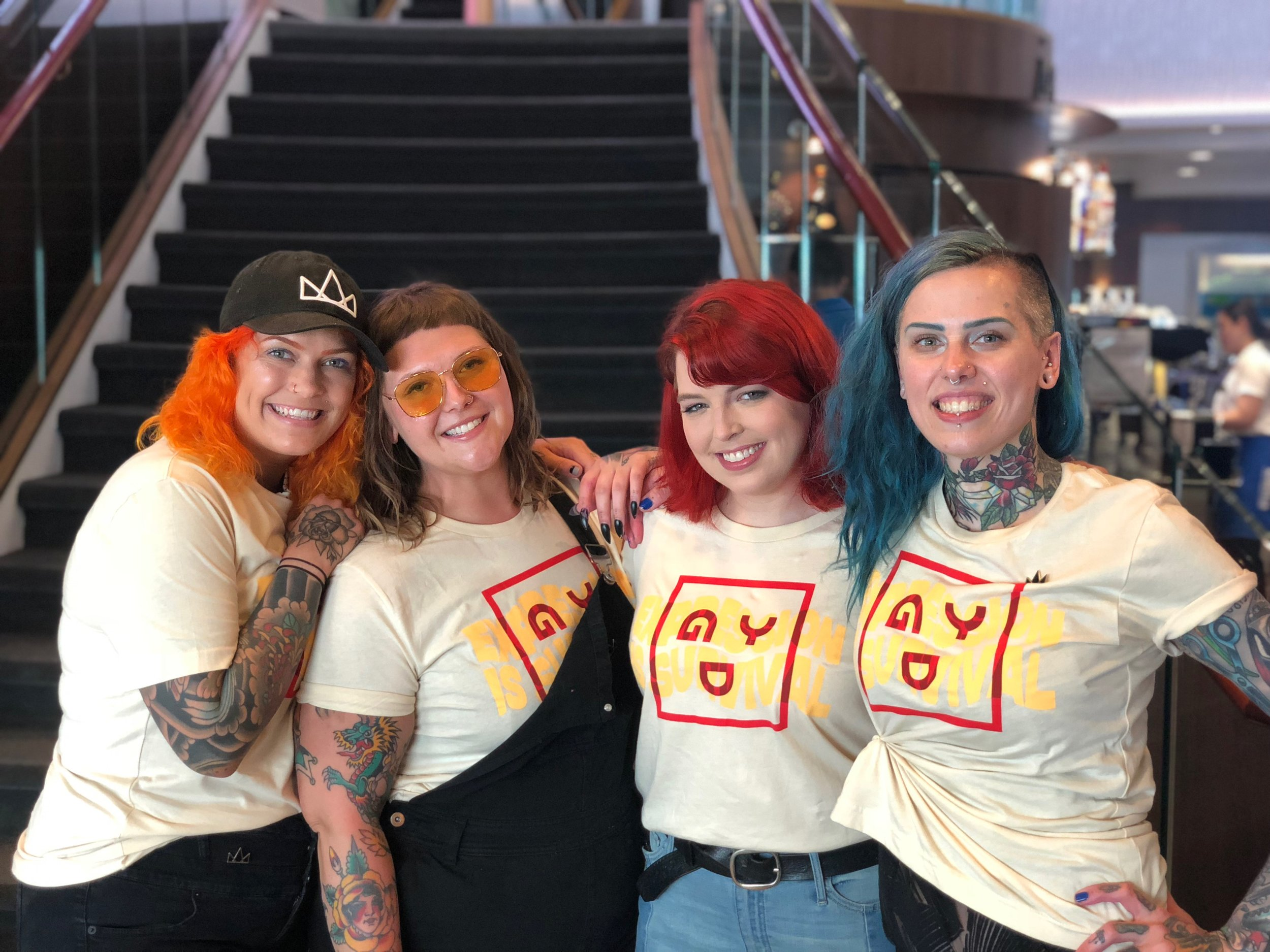 GoodDYEyoung on Parahoy 2018