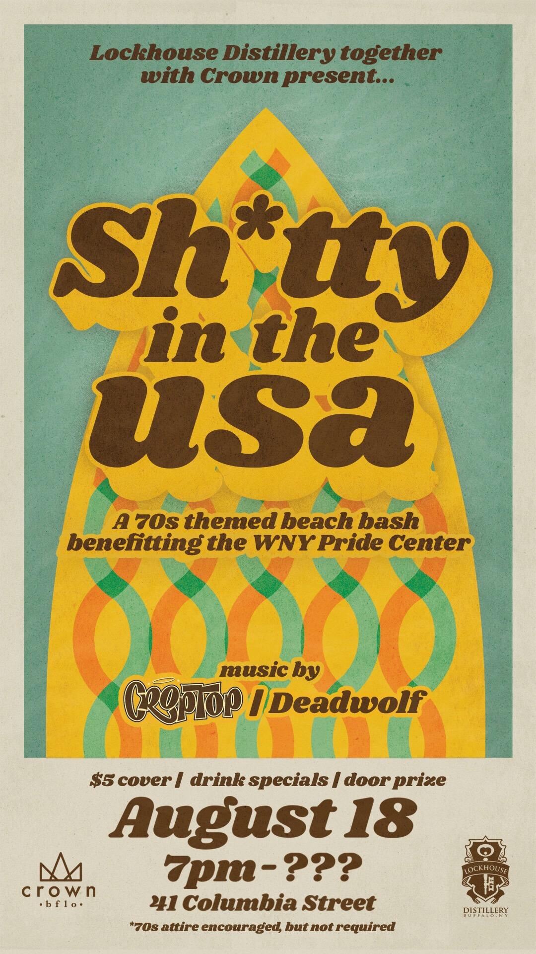 Sh*tty in the USA, August 2018