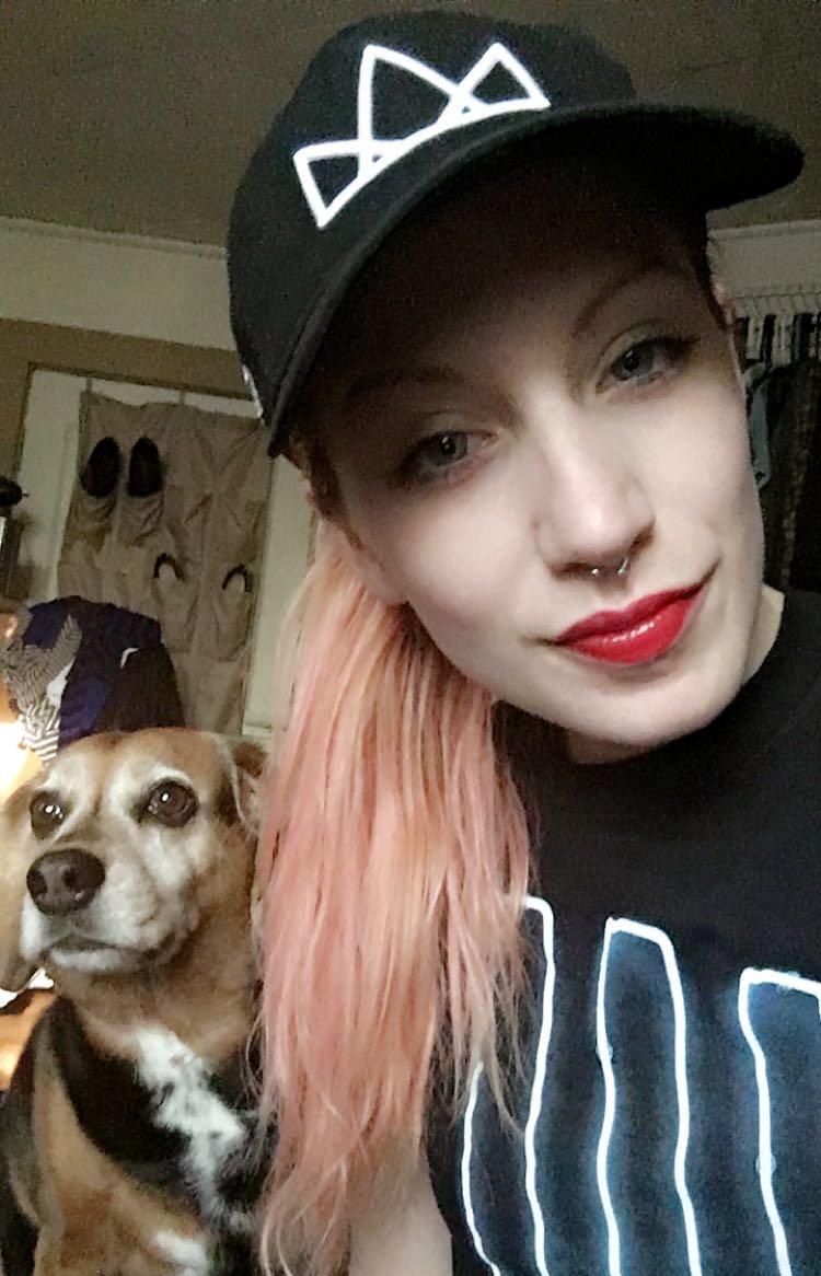 Sabrina + her Dad Hat