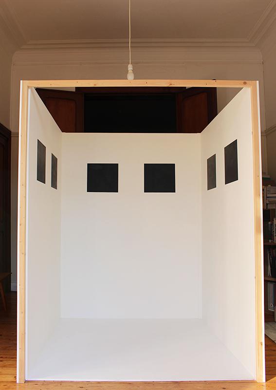 Exhibition view at  Ladestructiondesespacesvides  © Iris Lafon