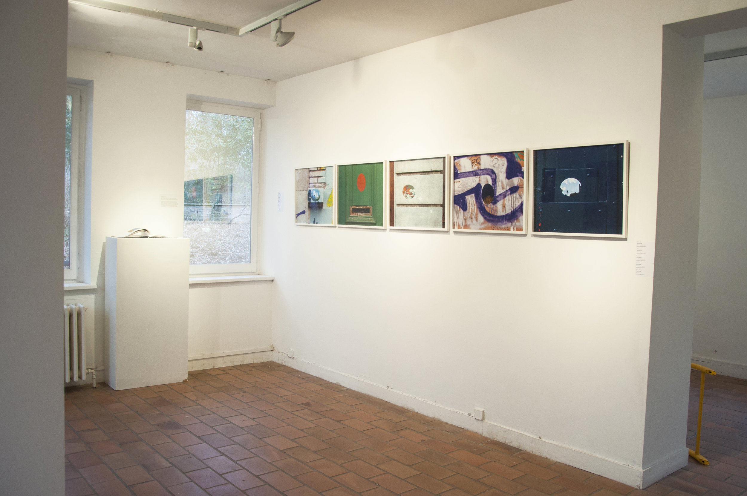 Exhibition view at  Médiatine Competition , Brussels, Second Prize of the COCOF, 2016