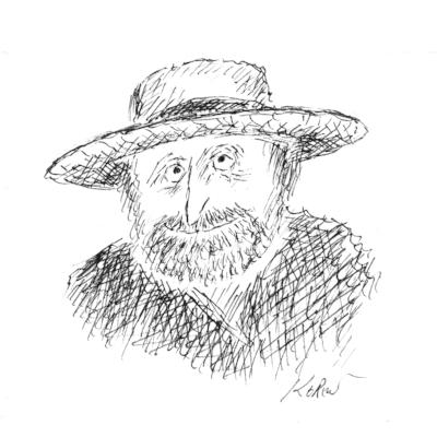 Rick Kisonak, by Ed Koren