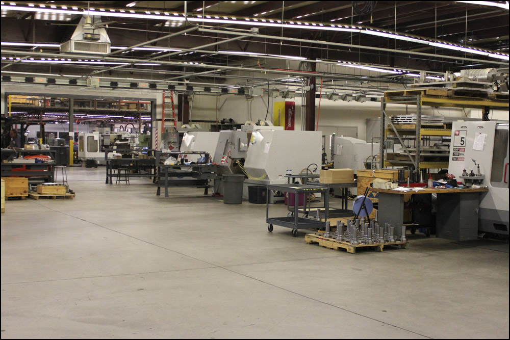 We operate 40+ state of the art CNC machining centers in our 30,000 sq-ft facility. We pride ourselves on maintaining a clean and highly organized shop, and welcome customer visits.