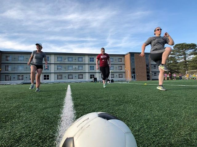 4/16 5:30 Ladies Practice. . . #futfitkc #FitnessPlayed #Soccer #Fitness #OverlandPark #KansasCity #Lenexa #Olathe