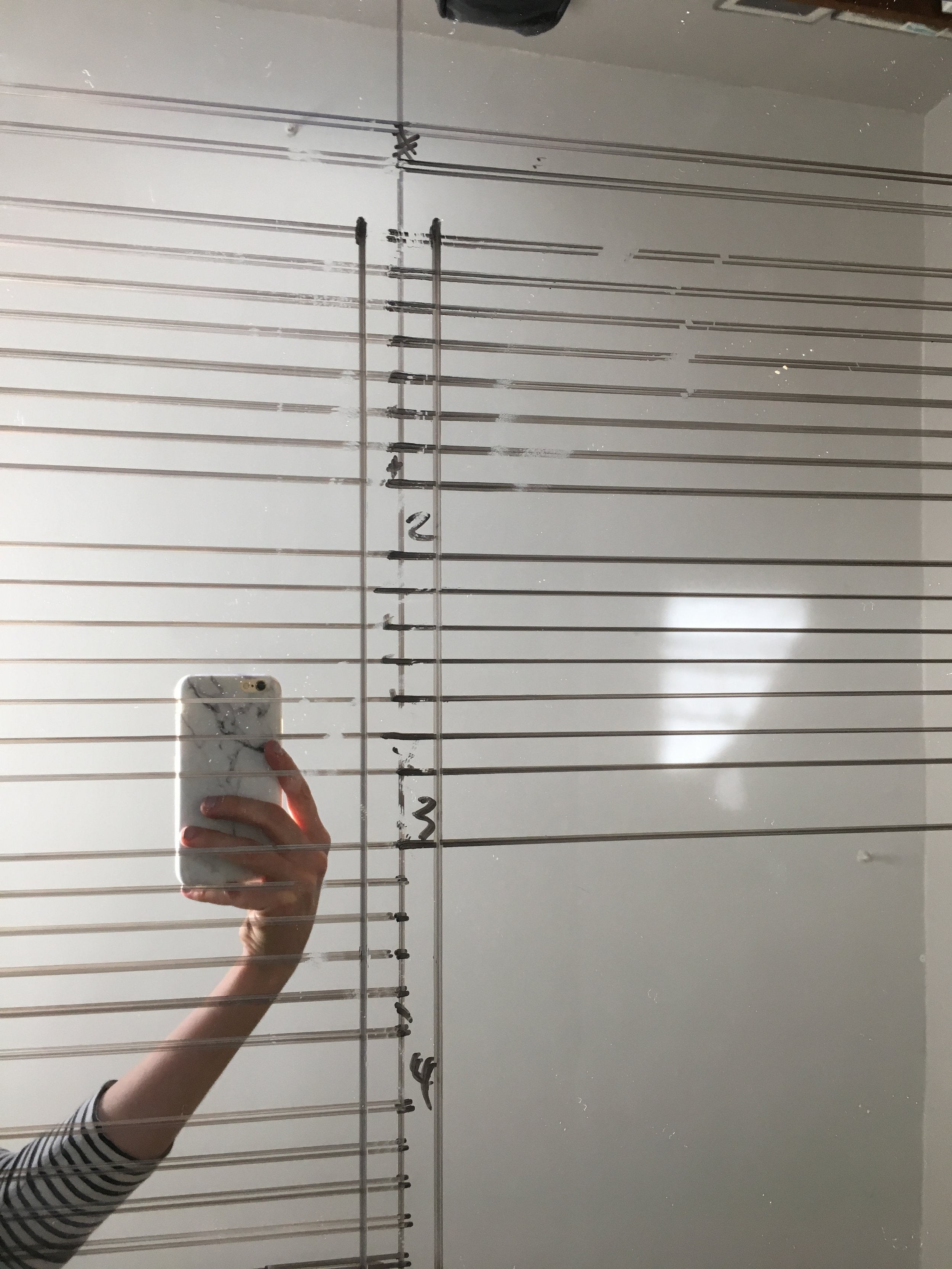 Making a Mirror Seating Chart